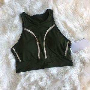 Fabletics Olive green sports bra